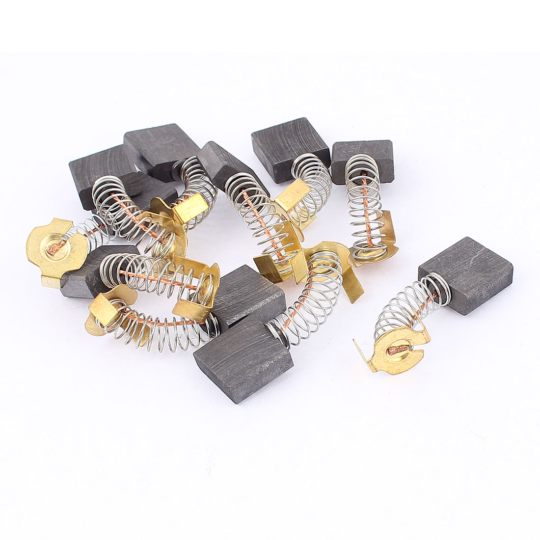Generic Electric Motor Carbon Brushes Bush Repairing Part Power Tool 5 Pairs