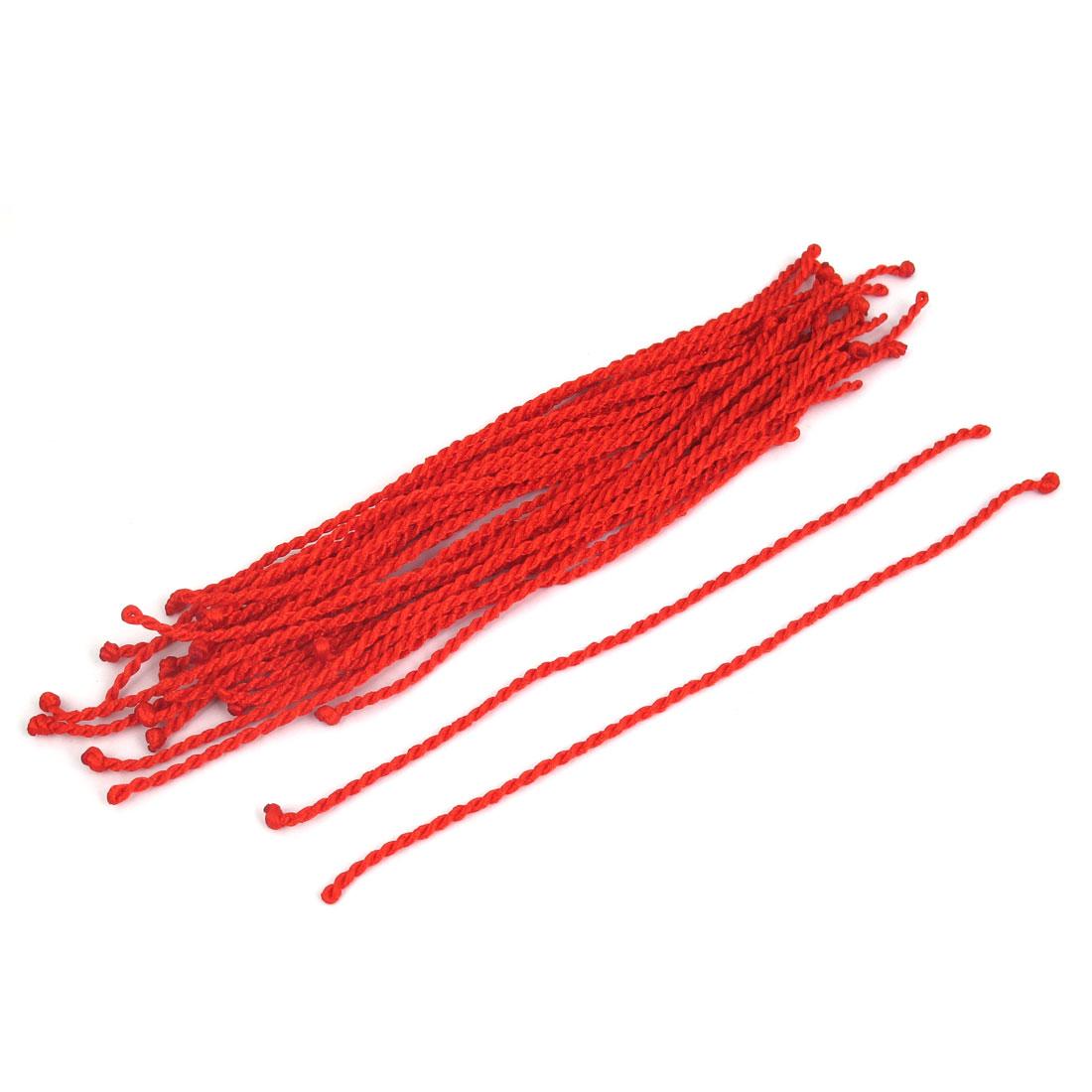 Red Nylon Lucky Handmade Braided String Wrist Bracelet Bangle Rope 30pcs