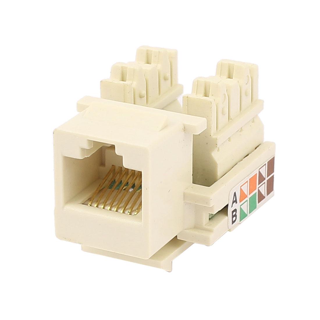 Newtwork Ethernet Lan Cable Joiner Connector RJ45 CAT5E Extender Plug
