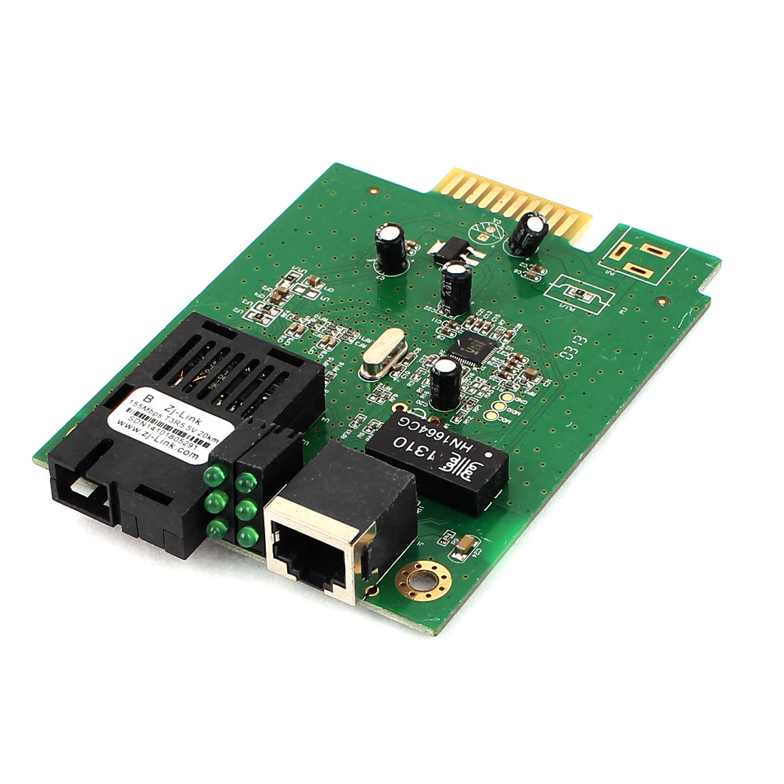 Single WDM 25Km Fast Ethernet 10/100 Optical Fiber Converter Board
