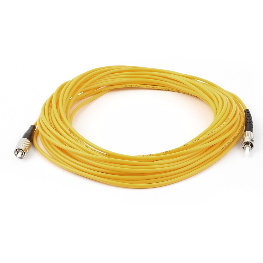 10M 33Ft Jumper Cable Simplex Singlemode ST-FC Fiber Optic Patch Cord