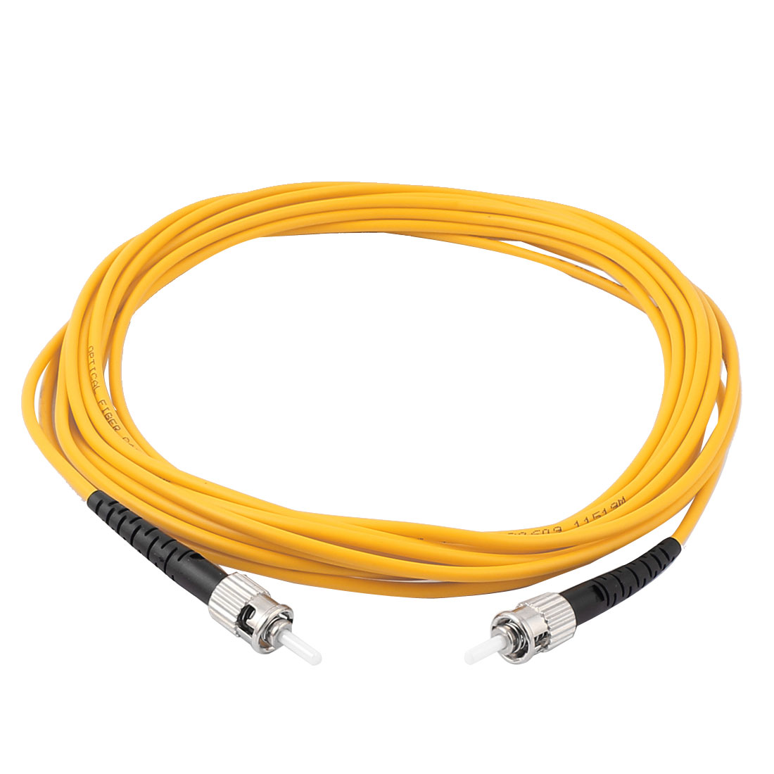 5M 16.4Ft Jumper Cable Simplex Singlemode ST-ST Fiber Optic Patch Cord