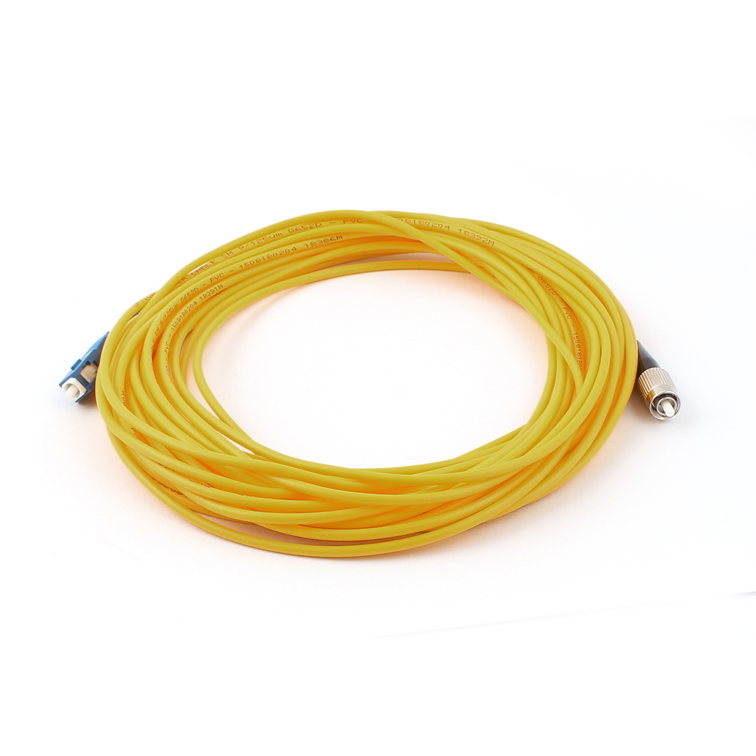 10M 33Ft Jumper Cable Simplex Singlemode SC-FC Fiber Optic Patch Cord