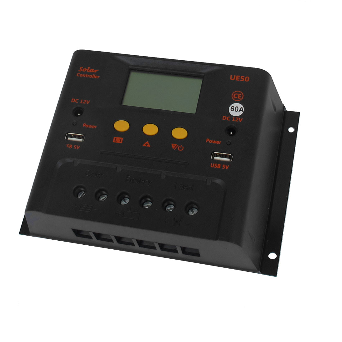 UE6048 60A 48V LCD Display Solar Battery Regulator Charge Controller Automatic Control Switch