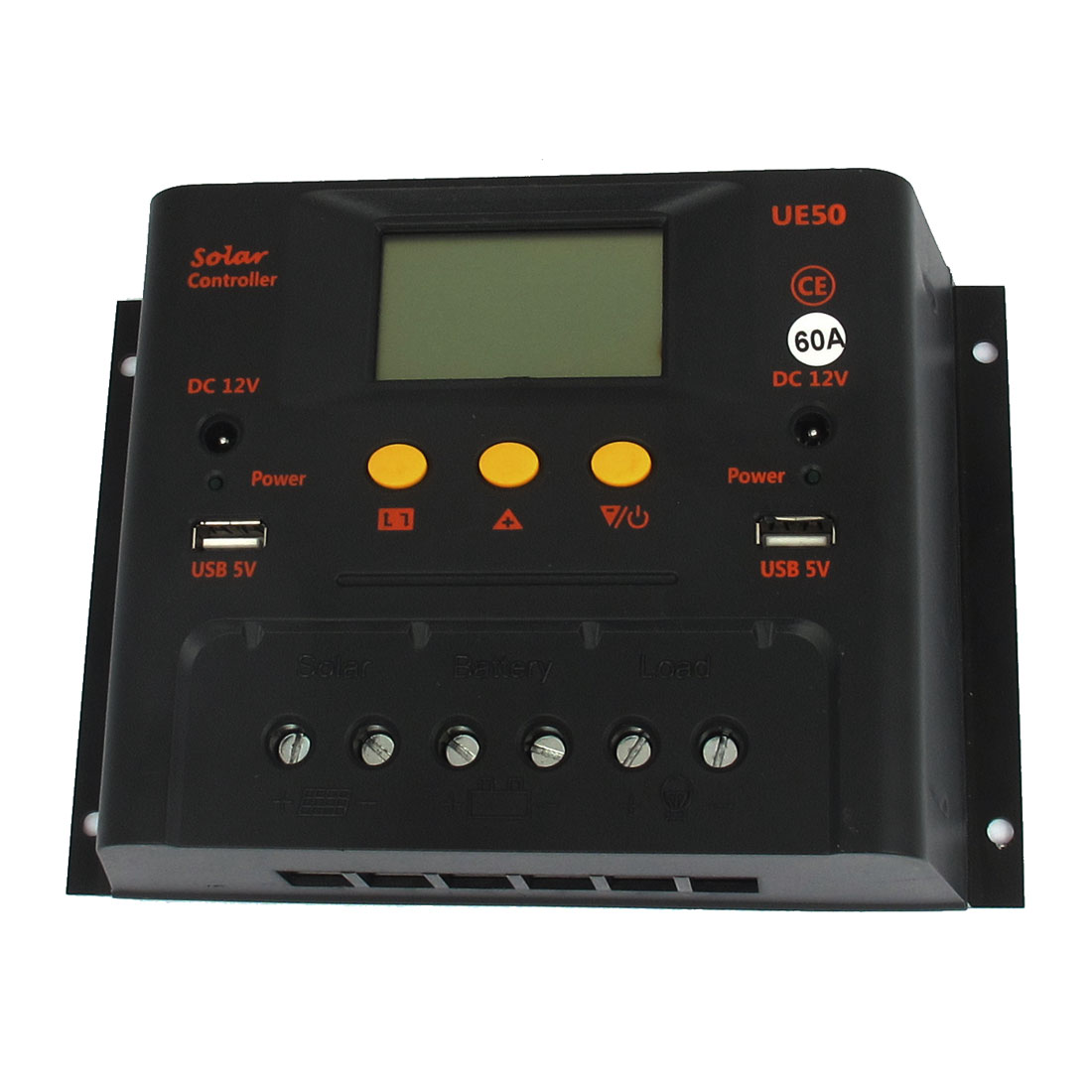 UE6024Z 60A 12V/24V PWM Solar Street Lamp Panel Battery Regulator Charge Controller Automatic Switch