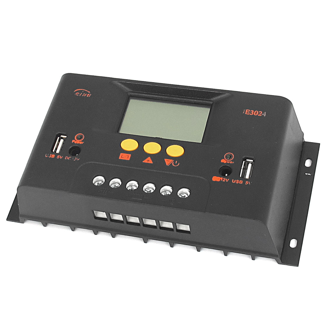 UE3024 30A 12V/24V PWM Solar Battery Regulator Charger Charge Controller Automatic Switch