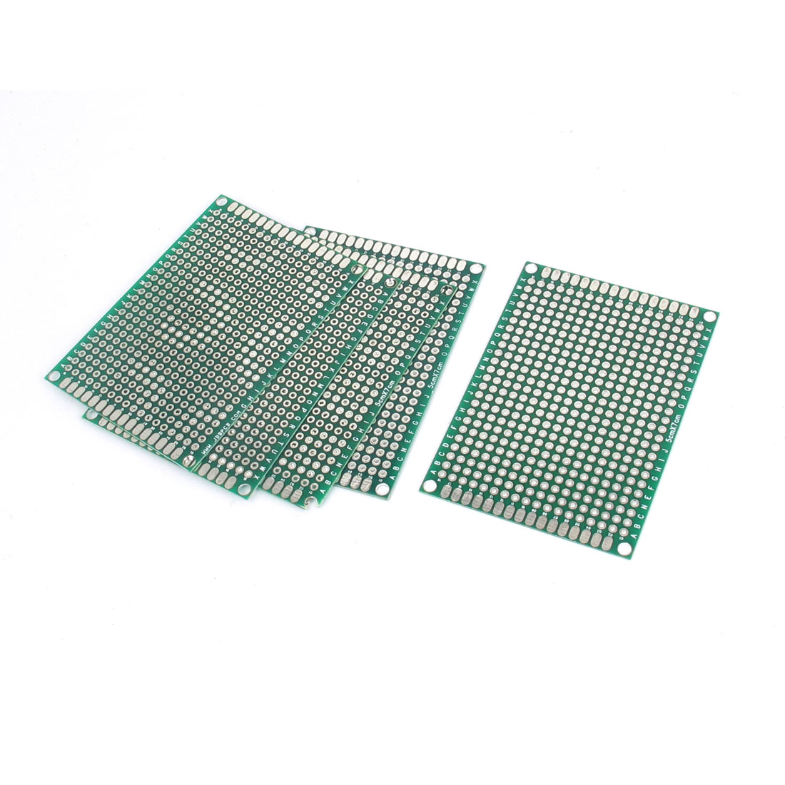 5pcs 5cm x 7cm Dual Sided Prototyping Universal PCB Printed Circuit Board Breadboard