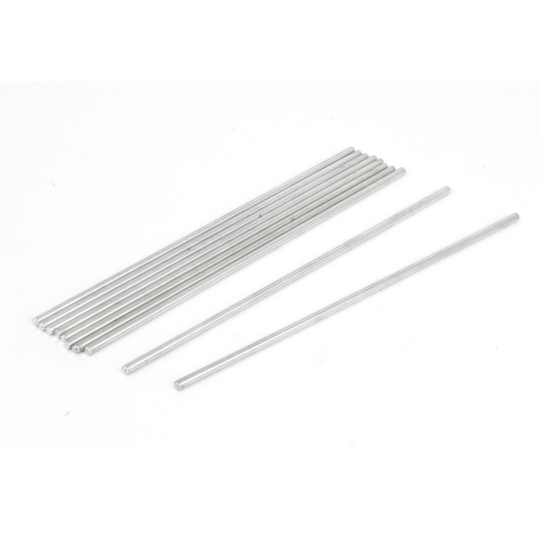 10pcs 2mm x 100mm Metal Round Rod Stock Drill Bar for RC Airplane Model
