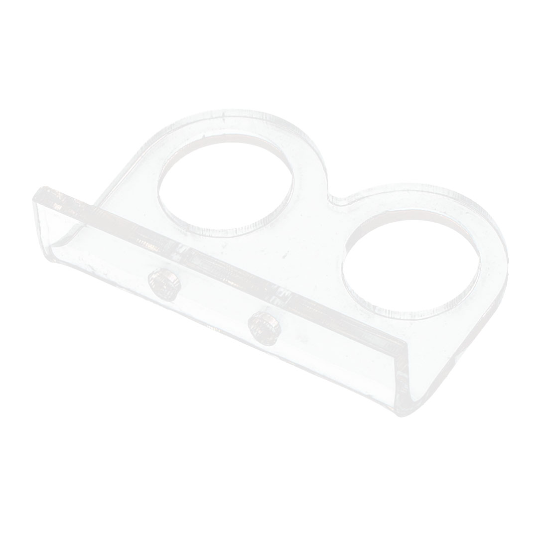 Ultrasonic Sensor Module Clear Plastic Fixed Bracket Support Mount Fastener