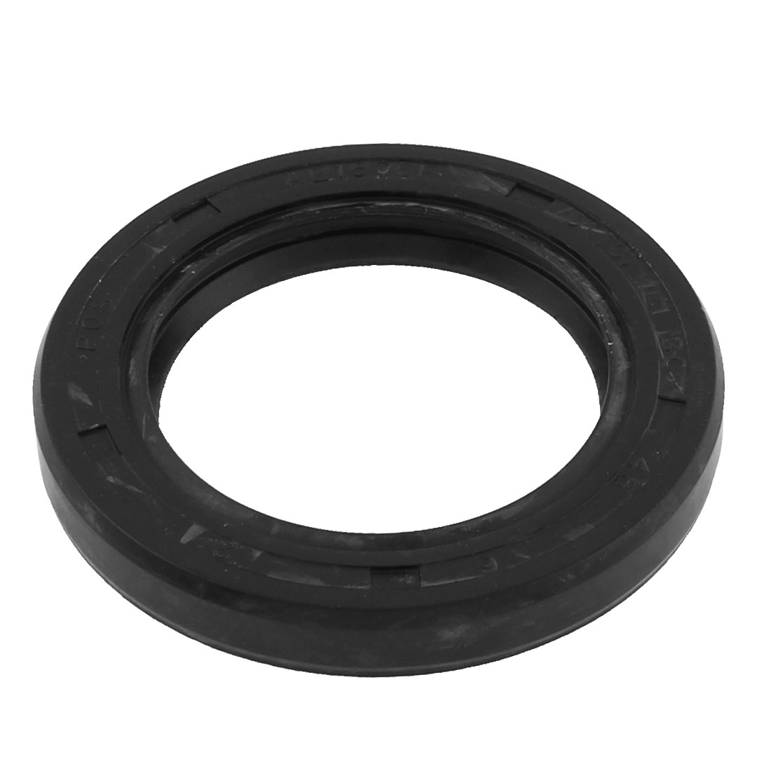Gearbox Rubber Double Lipped Oil Sealing Washer Black 30mm x 45mm x 6mm