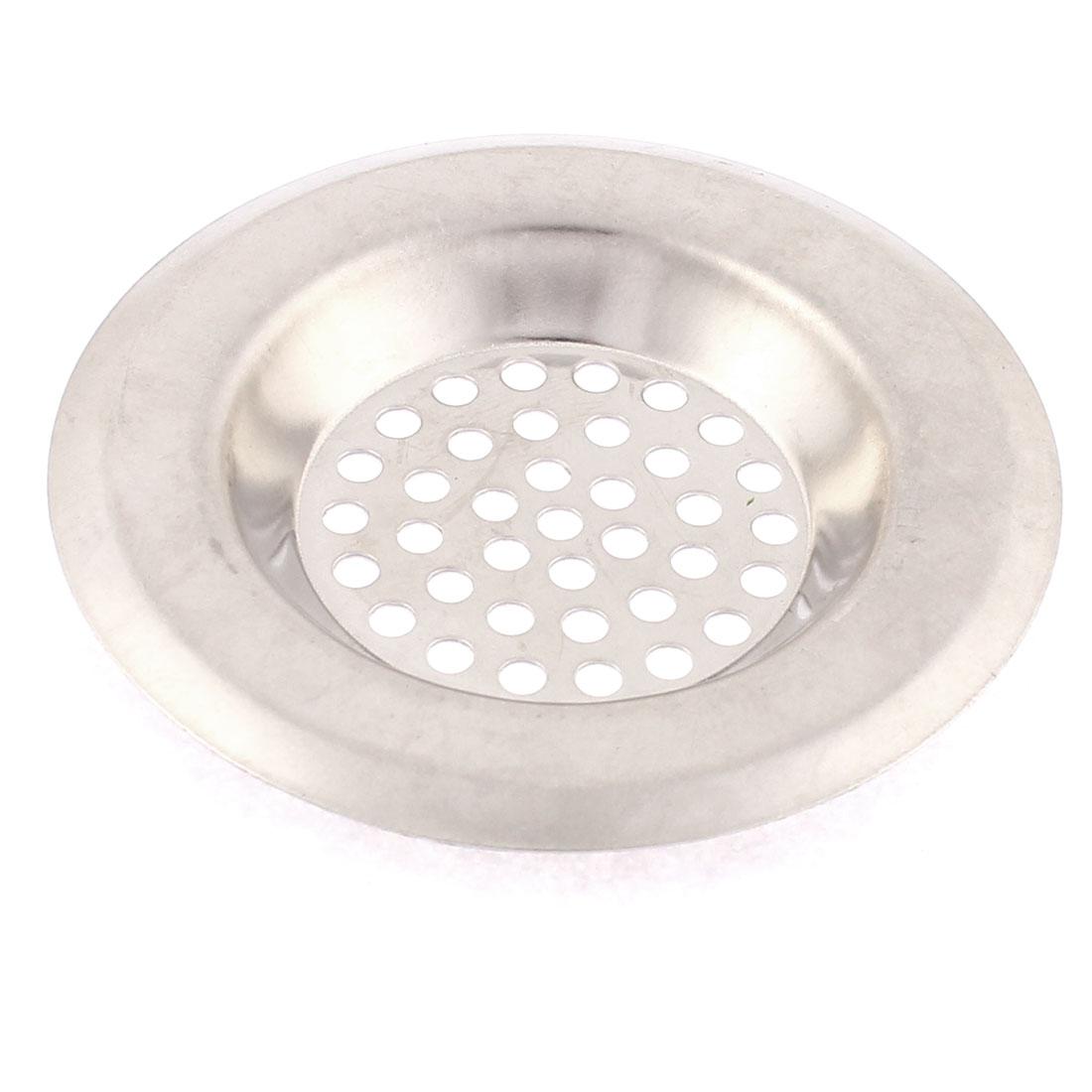 Bathroom Kitchen Metal Sink Waste Strainer Drainer Filter Stopper 6.5cm Dia