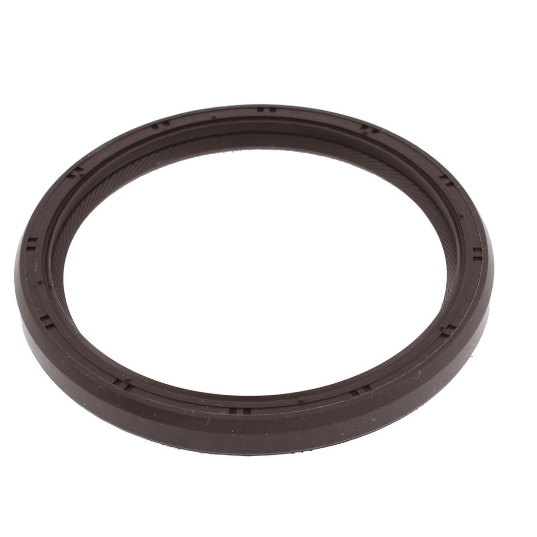 Car Auto Engine Crankshaft Ring Oil Seal Chocolate Color 80mm x 96mm x 9mm