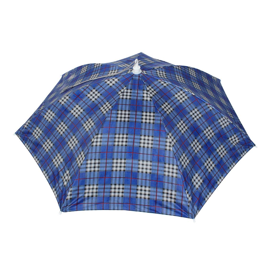 Fisherman Fishing Travel Headwear Elastic Headband Umbrella Hat Cap