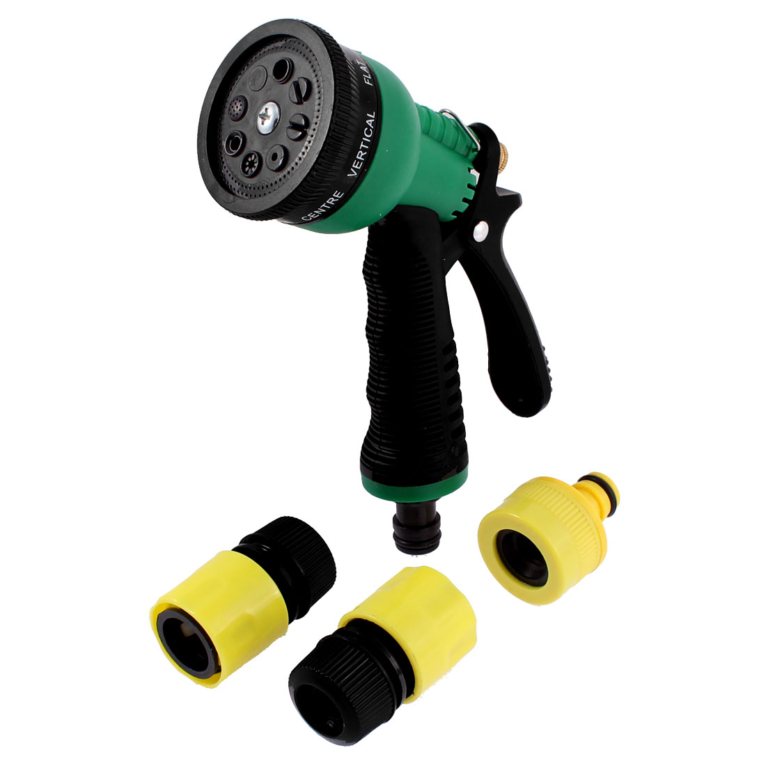 Garden Irrigation Car Cleaning Multifunction Water Hose Squirt Sprayer Nozzle Gun Connector