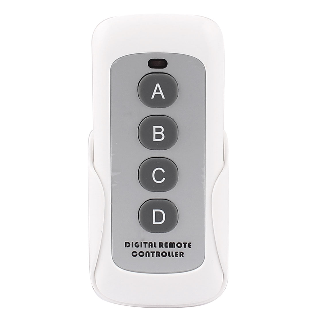 White Plastic Material Four Keys Remote Controller for Panel Touch Wall Light Switch