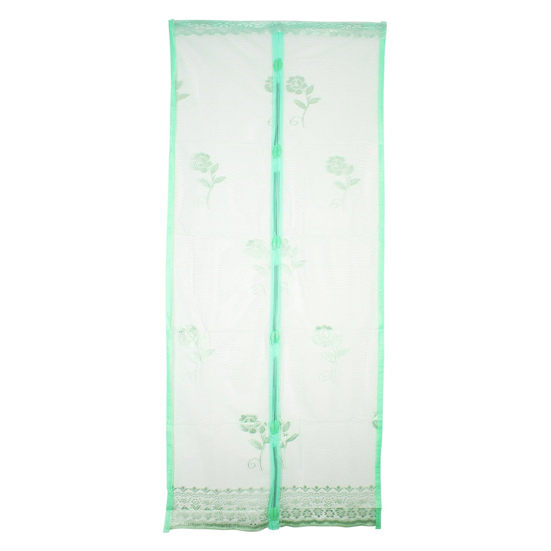 EasyFit Magnetic Door Insect Fly Curtain Mozzy Screen Door Green