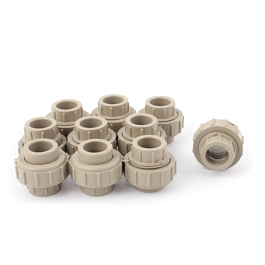 25mm Inner Dia Adjustable Water Liduqid PPR Pipe Fitting Connecting 10pcs