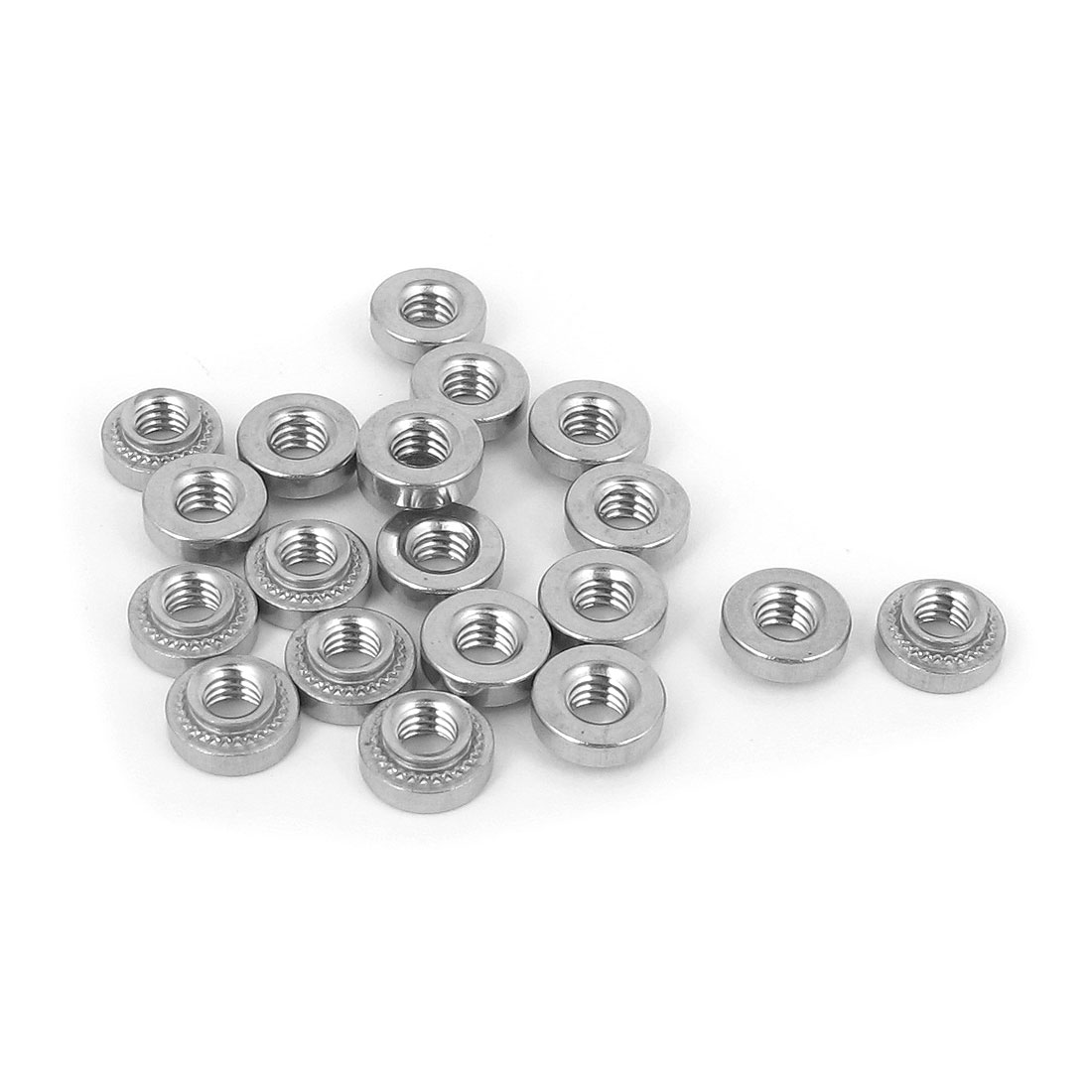 M4 Stainless Steel Self Clinching Rivet Nut Fastener 20pcs for 1.4mm Thin Plates