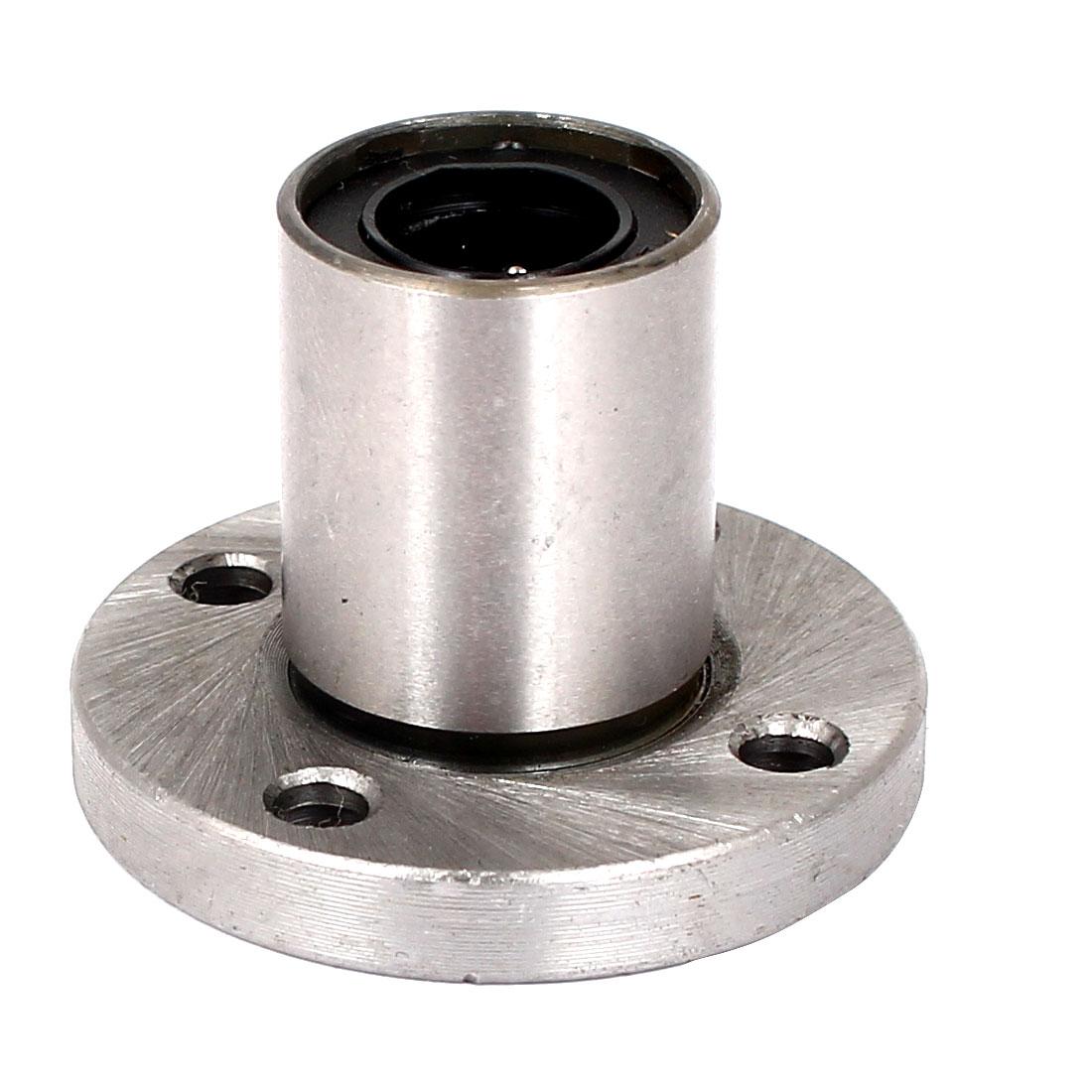 LMF12UU 42mm Round Flange Linear Bearing Ball Bushing 12mmx21x30mm CNC Parts