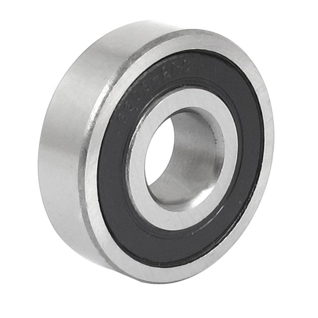 47mm x 17mm x 14mm 6303-2RS Sealing Rubber Groove Ball Wheel Bearings