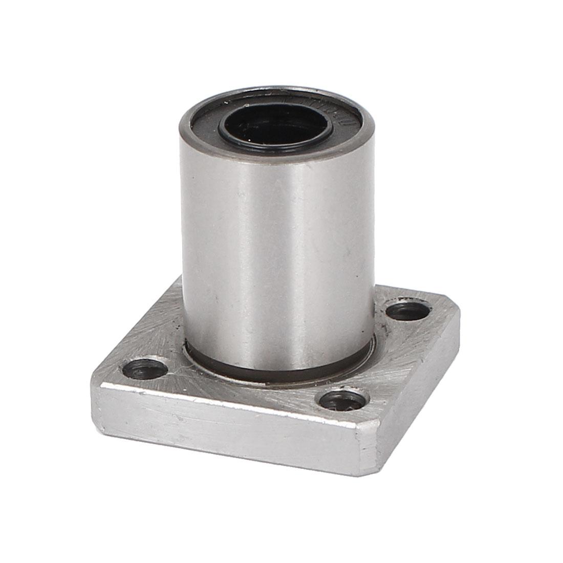 LMK10UU Square Flange Linear Bearing Ball Bushing 19mmx10x29mm