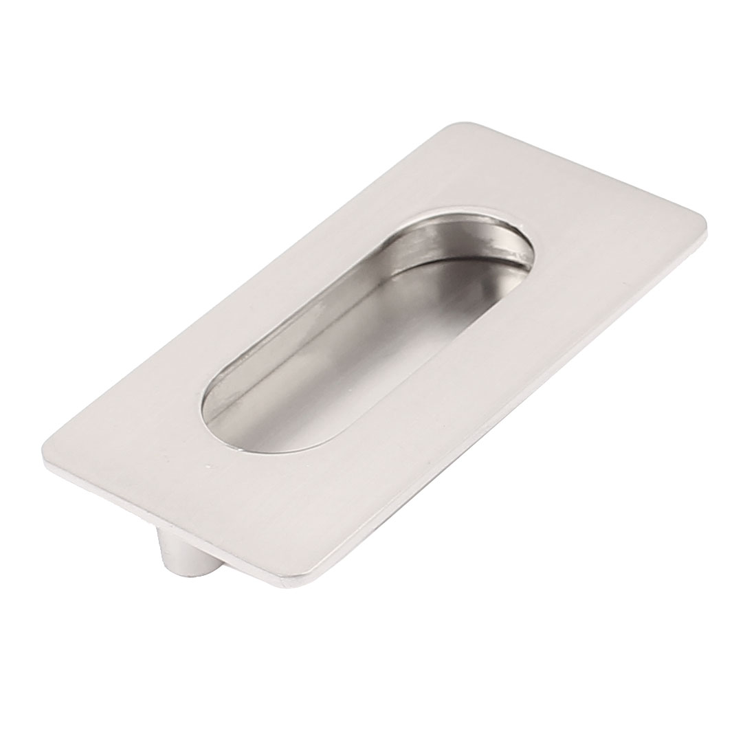70mmx28mm Furniture Fittings Cabinet Rectangle Shape Flush Pull Handle