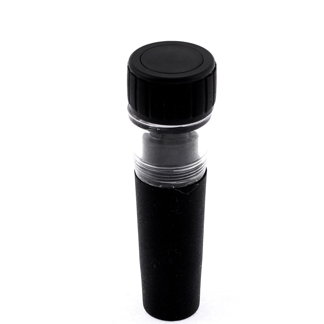Wine Vacuum Sealing Bottle Air Pump Sealer Cap Stopper Preserver Black