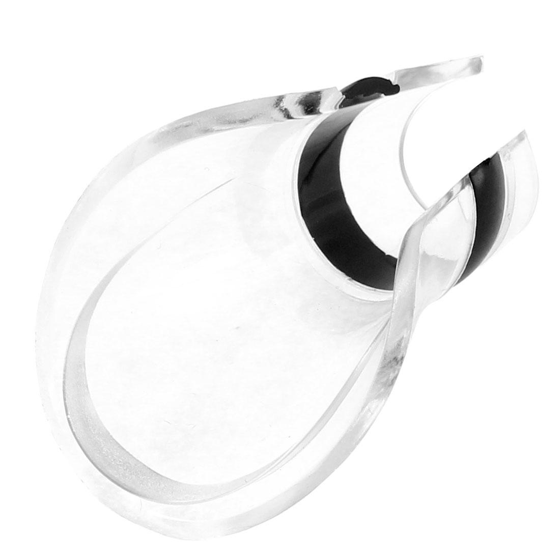 Duck Mouth Shaped Wine Liquor Aerator Spout Flow Pourer Dispenser Black Clear
