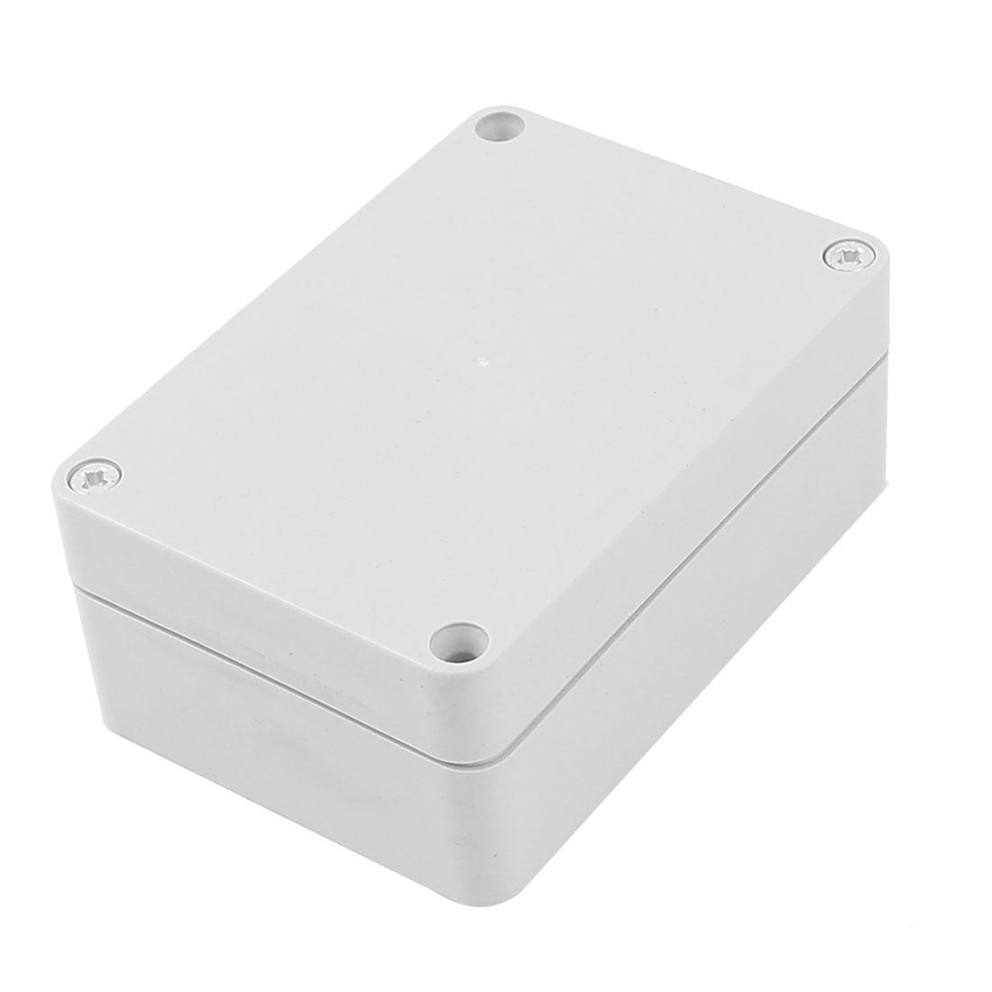 Dustproof IP65 Plastic Enclosure Junction Box Terminal Block 83x58x35mm