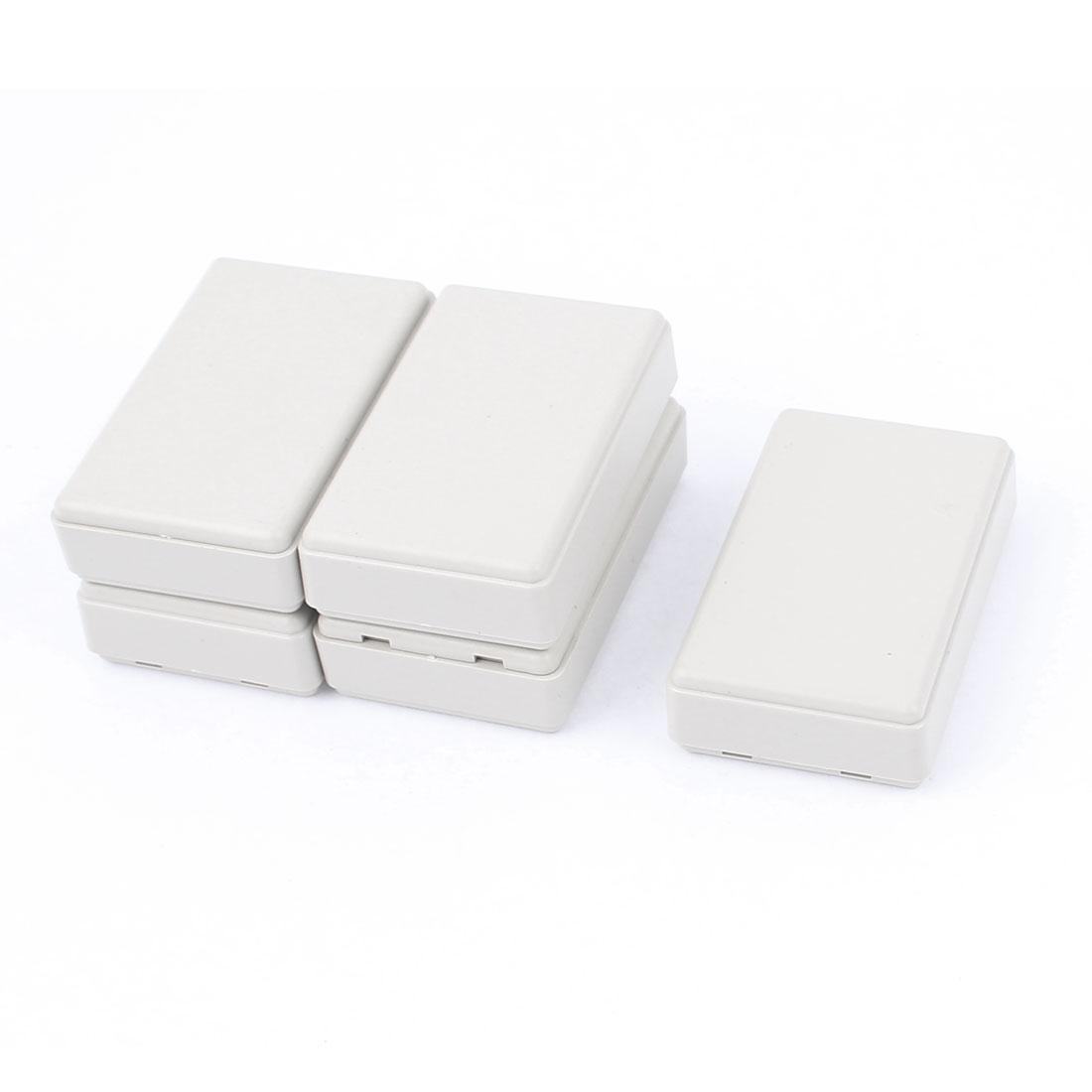 Dustproof IP65 Plastic Enclosure Cable Connect Case Junction Box 6pcs