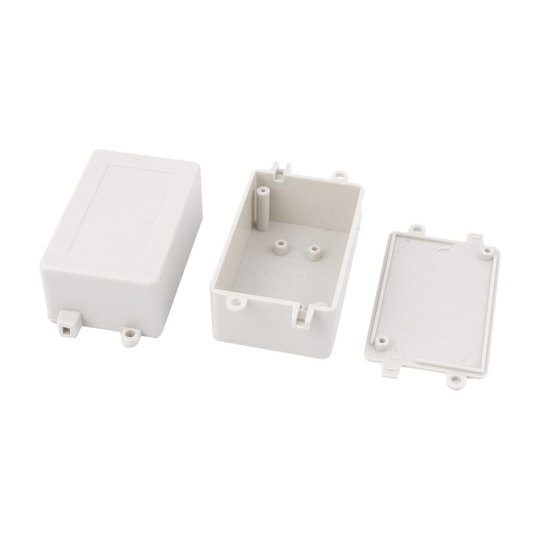 2pcs Plastic Enclosure Electronic Switch Case DIY Junction Box 70x45x30mm