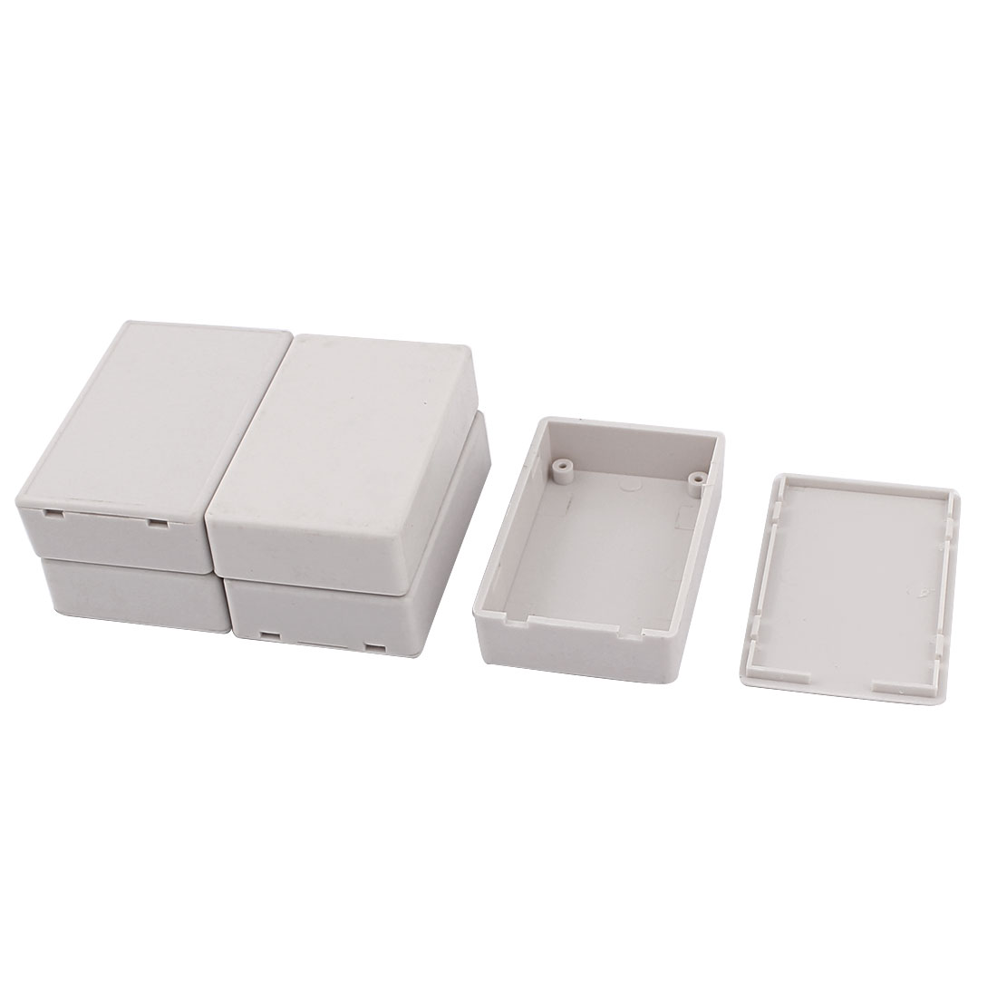 5pcs PlasticPower Protector Project Case DIY Junction Box 70mmx46mmx19mm