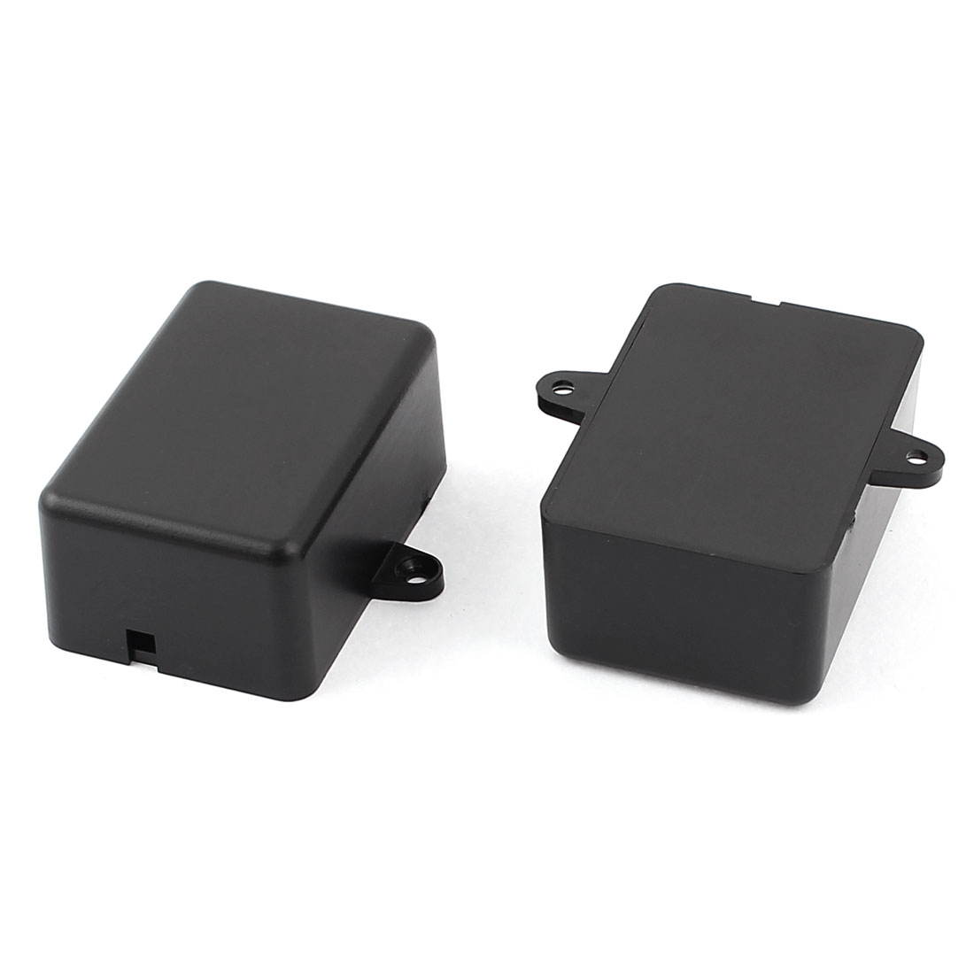 2pcs Plastic Electronic Project Case Junction Box 50 x 35 x 23mm Black