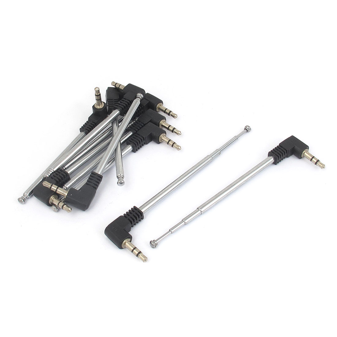 10pcs 3.5mm Adapter Telescopic 4 Sections Antenna Aerial for RC Controller