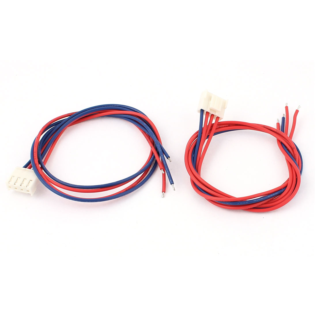 3.96mm Pitch 4Pin Micro JST Connector Wires Cables 40cm 2pcs