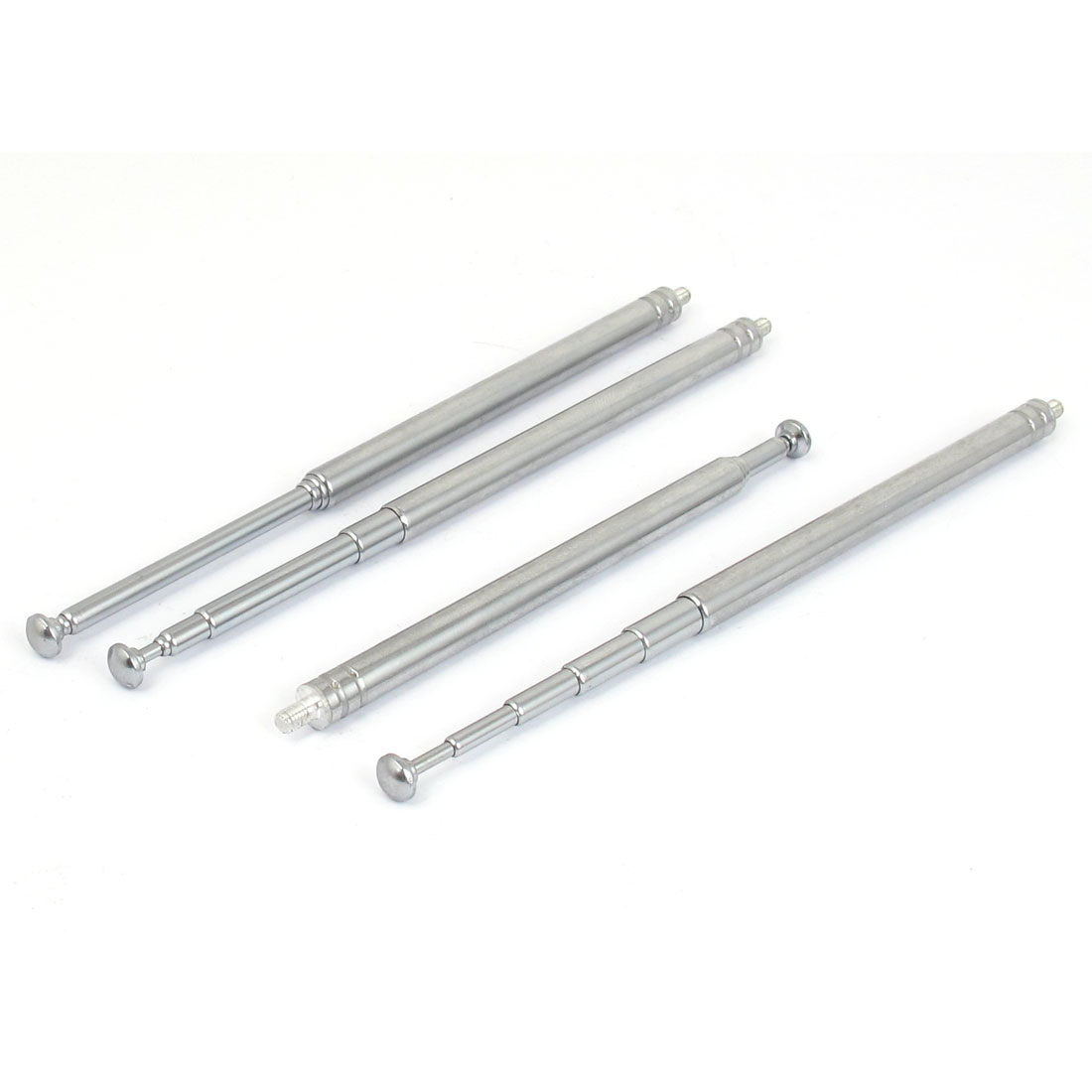 4pcs 3760mm Long Metal Rod Telescopic 6 Sections Antenna Aerial Mast for RC Radio Control