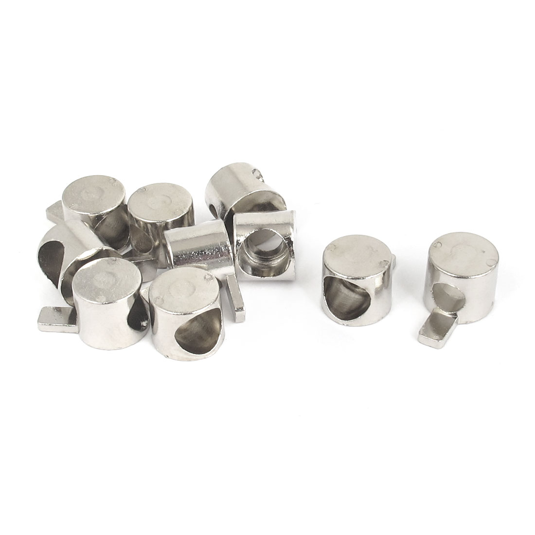 10Pcs Metal Profile Inner Connect T Slot Anchor Fastener for 6mm Thread Dia