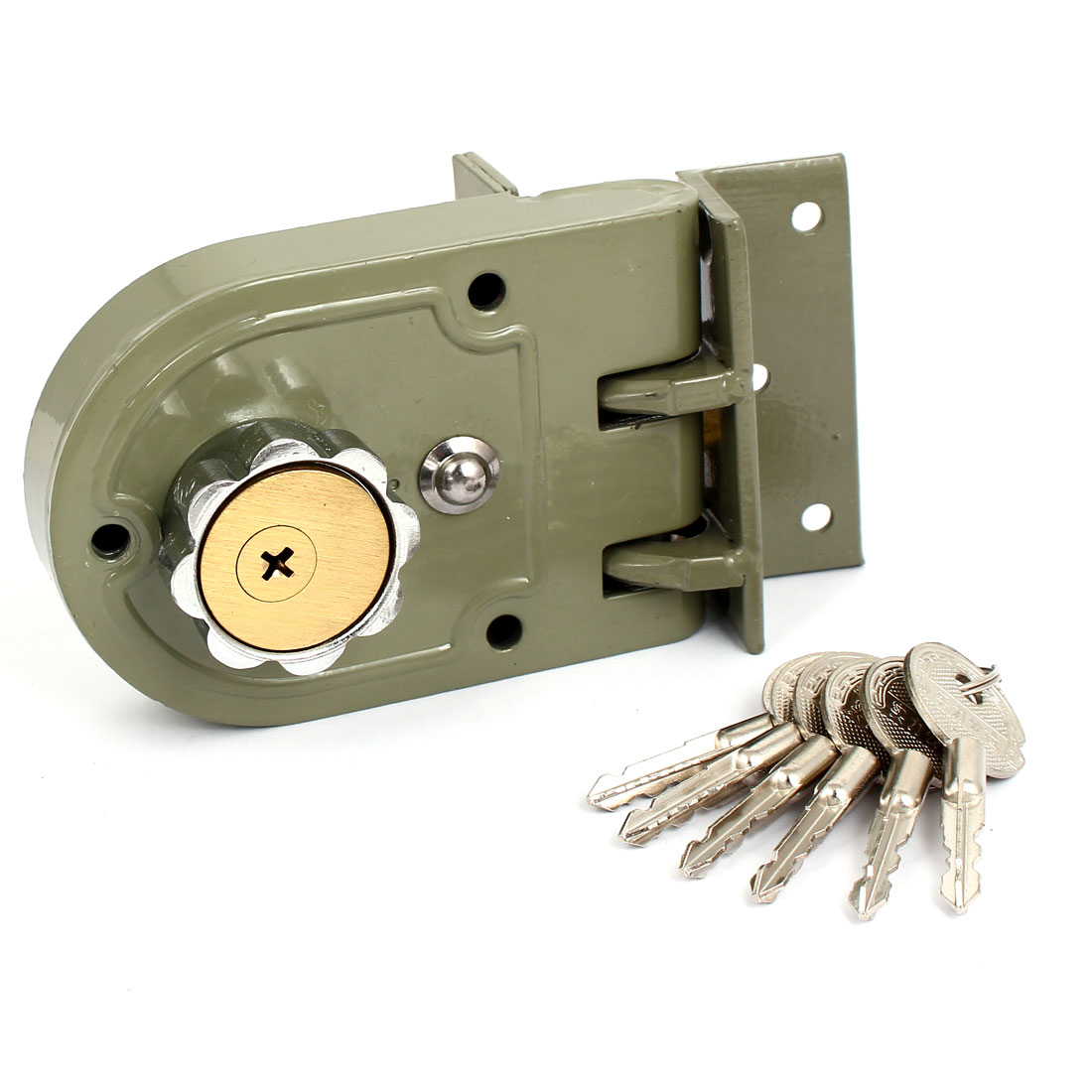 Home Office Hardware Single Cylinder Deadbolt Jimmy Proof Keyed Door Lock