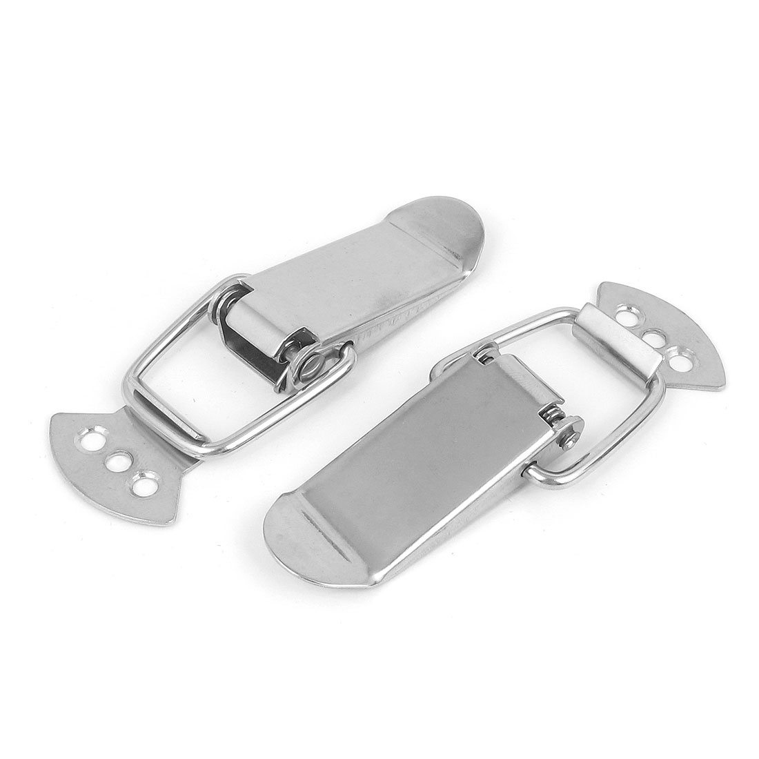 Suitcase Drawer Chest Box Spring Loaded Toggle Latch Catch Hasp 95mm Long 2pcs