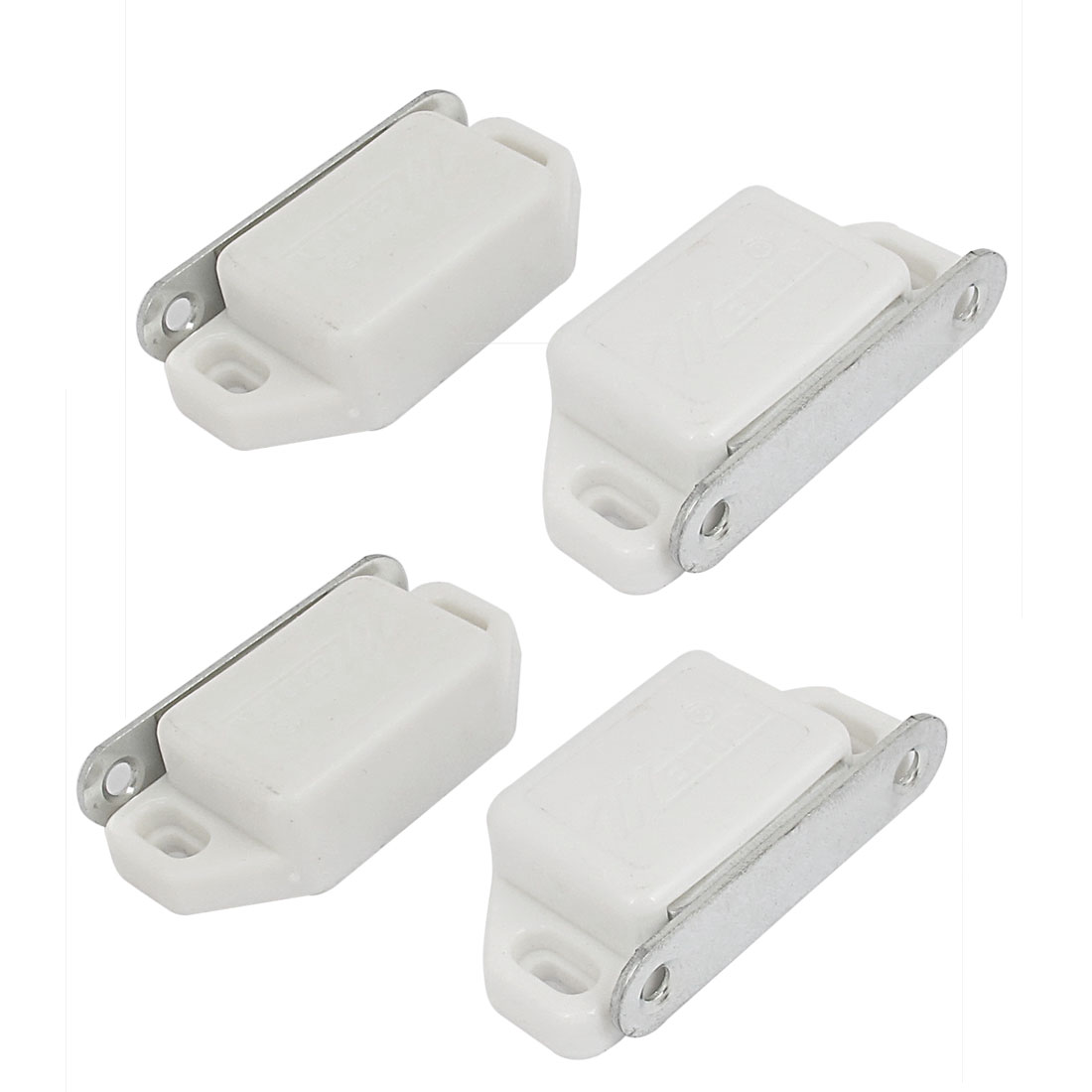 4pcs Cupboard Cabinet Closet Drawer Door Magnetic Latch Catch 58mm Long