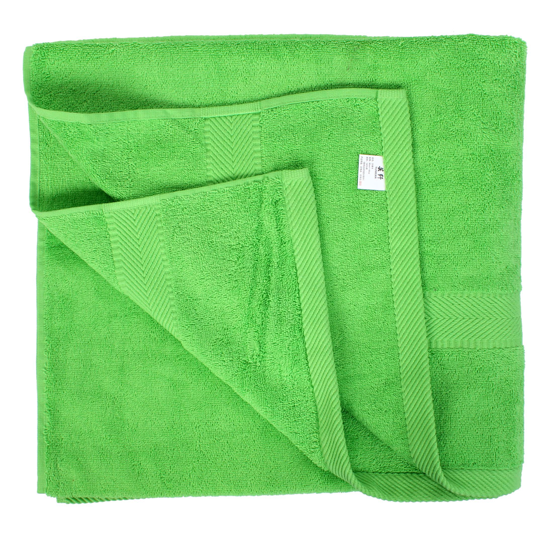 Hotel Gym Cotton Blend Beach Shower Bath Towel Sheet Washcloth Green 160 x 80cm
