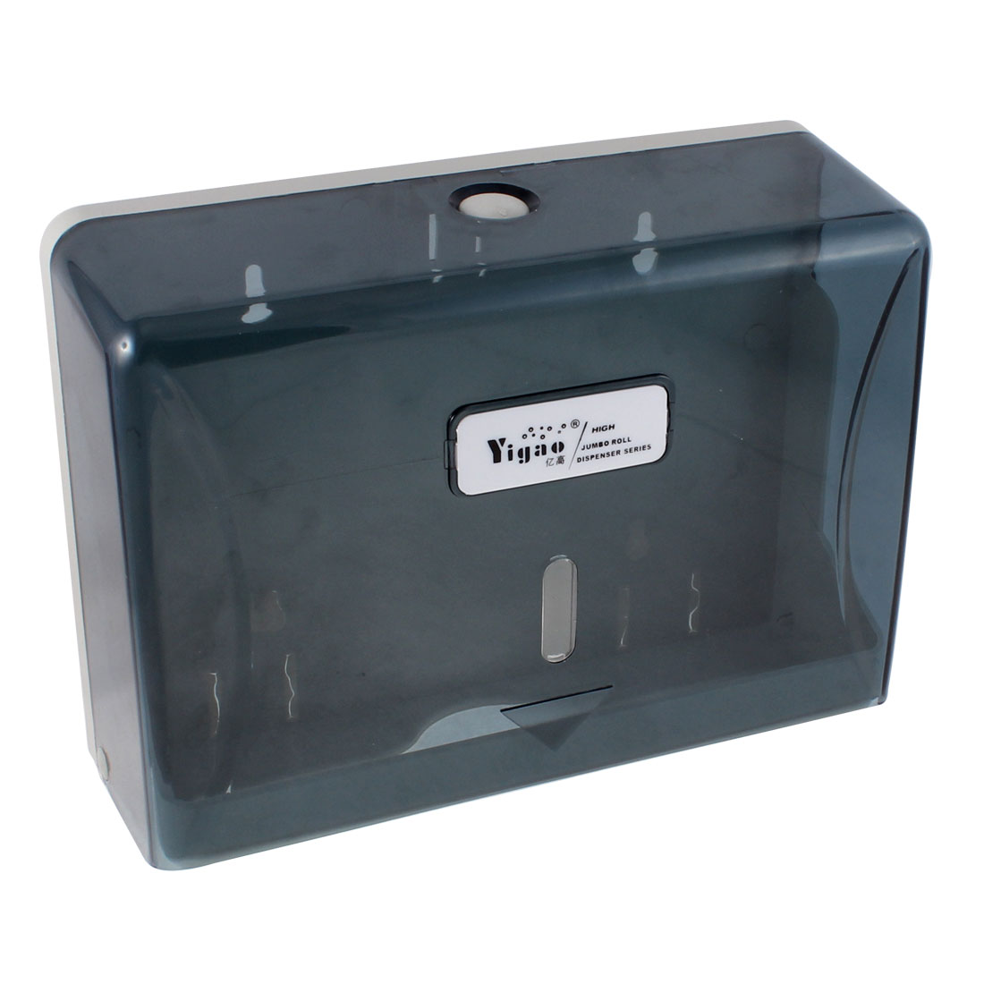 Hotel Bathroom Wall-hanging Type Toilet Paper Tissue Holder Case Dispenser Translucent