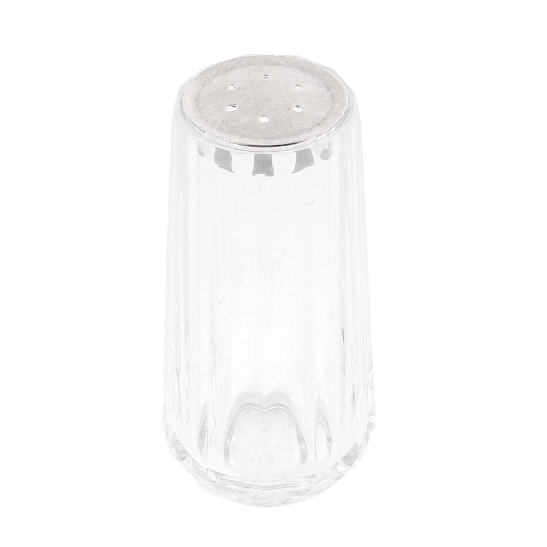 Restaurant Home Kitchen Acrylic Spices Salt Chili Powder Cruet Bottle Clear