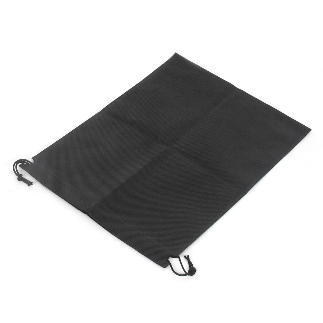 Traveling Clothes Dust Cover Storage Drawstring Bags 40 x 30cm Black