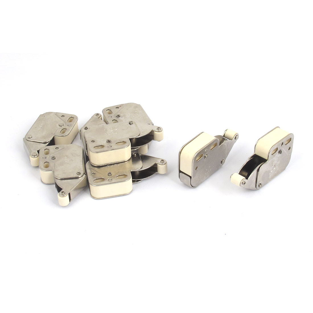 Furniture Push-to-Open One-touch Cabinet Cupboard Catch Latch 48mm Long 8Pcs