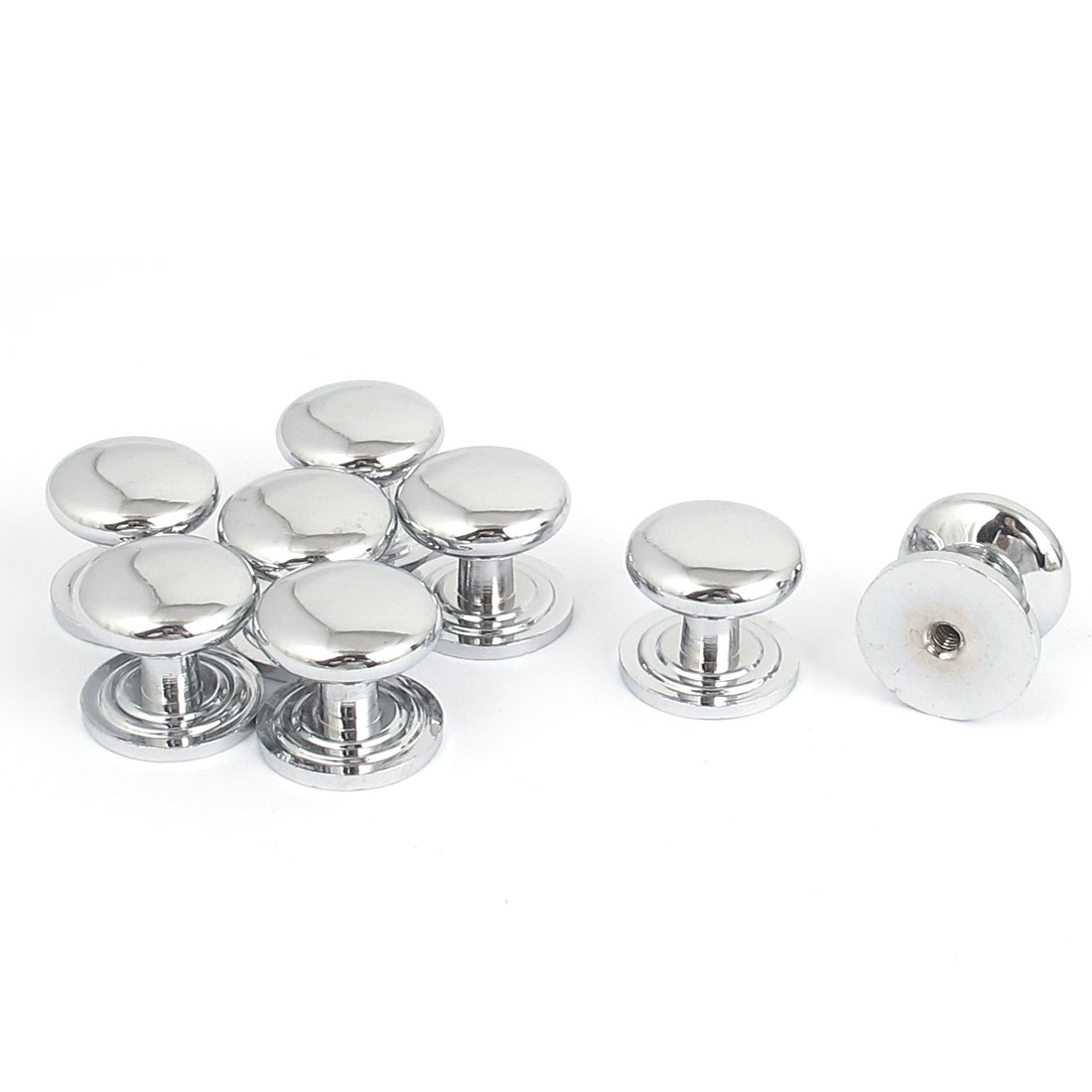 Door Drawer Cabinet Wardrobe 22mm Head Diameter Pull Handle Knob 8pcs