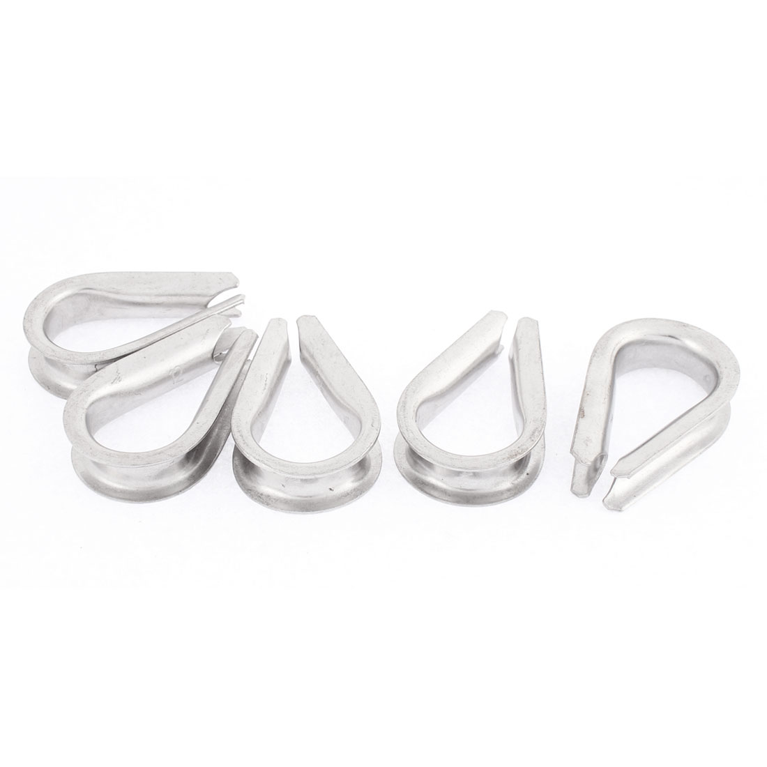 12mm Standard Wire Rope Cable Thimbles Rigging Lifting Gear 5pcs