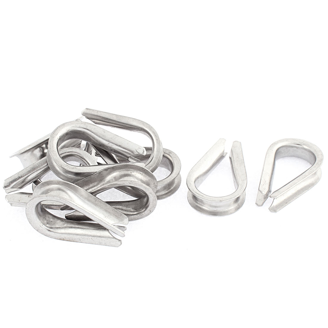 12mm Standard Wire Rope Cable Thimbles Rigging Lifting Gear 10pcs