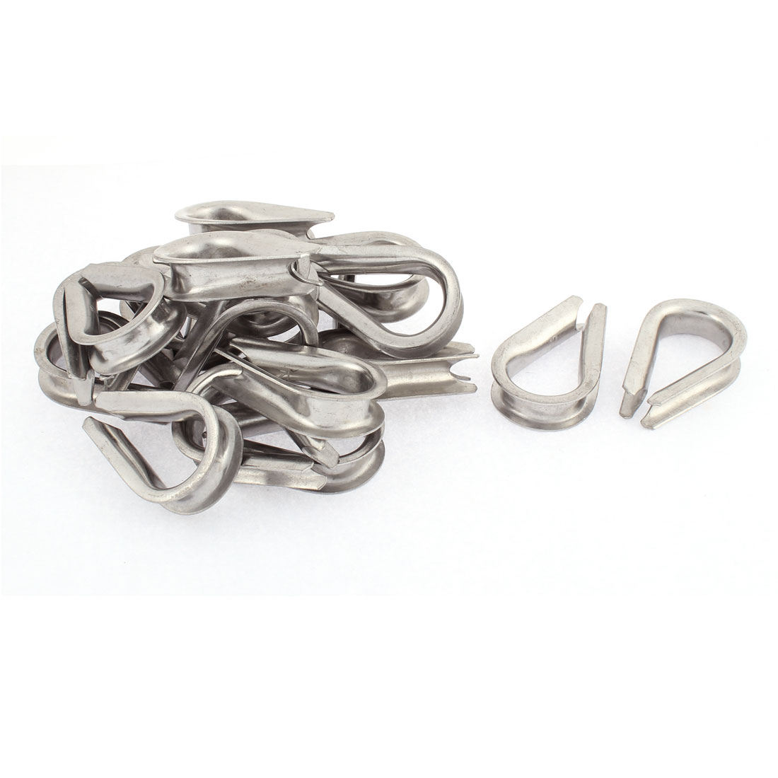 12mm Standard Wire Rope Cable Thimbles Rigging Lifting Gear 20pcs