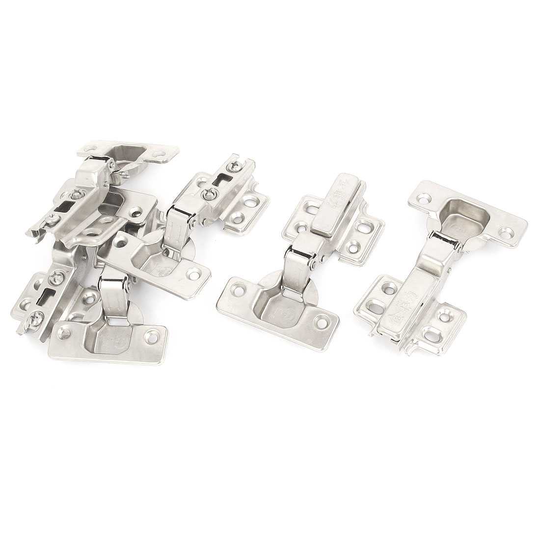Face Frame Concealed Self Closing Cupboard Cabinet Hinges 6pcs